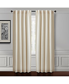 "Croscill Murray Hill 54"" x 84"" Textured-Stripe Back Tab Window Panel"