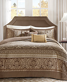 Madison Park Bellagio 5-Pc. Quilted King Bedspread Set