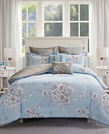 Madison Park Diana 7-Pc. Full/Queen Duvet Cover Set