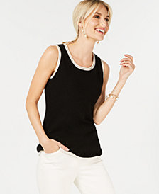 Charter Club Pure Cashmere Shell in Regular & Petite Sizes, Created for Macy's