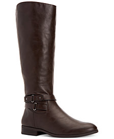 Style & Co Kindell Wide-Calf Tall Boots, Created For Macy's