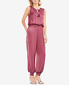 Vince Camuto Smocked Blouson Jumpsuit