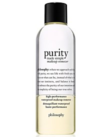 Purity Made Simple High-Performance Waterproof Makeup Remover, 6.6-oz.