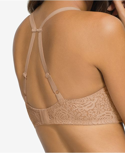 c05d3966ea Wacoal Halo Lace Molded Underwire Bra 851205   Reviews - All Bras ...