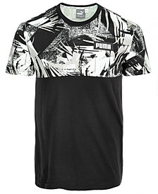 Puma Men's Rebel Colorblocked T-Shirt