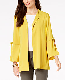 Alfani Bow Sleeve Jacket, Created for Macy's