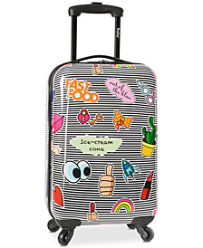 "Wembley Live It Up Ice Cream 20"" Hardside Carry-On Suitcase"