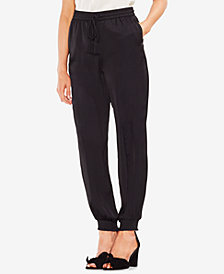 Vince Camuto Smocked Drawstring Pants