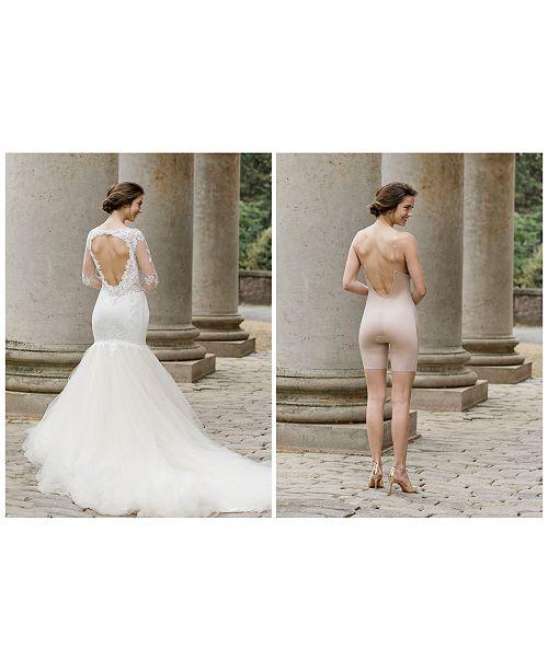167c1c9c65 SPANX Women s Suit Your Fancy Plunge Low-Back Mid-Thigh Bodysuit 10157R ...