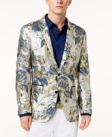I.N.C. Men's Floral Brocade Slim-Fit Blazer, Created for Macy's