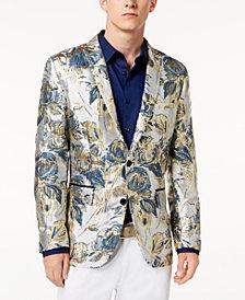 I.N.C. Men's Floral Brocade Slim-Fit Blazer, Created for Macy's