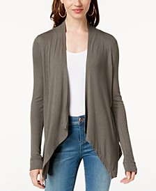 INC Draped Cardigan, Created for Macy's
