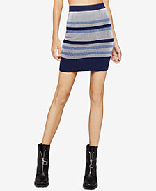 BCBGeneration Striped Pencil Skirt