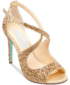 Betsey Johnson Sage Evening Sandals