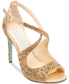 Blue By Betsey Johnson Sage Evening Sandals