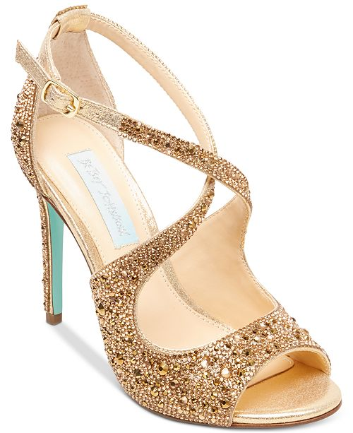 87dd526ce Blue by Betsey Johnson Sage Evening Sandals   Reviews - Sandals ...