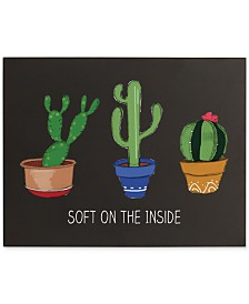 Cathy's Concepts Cactus Chalkboard Sign