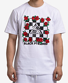 Black Pyramid Men's Graphic-Print T-Shirt