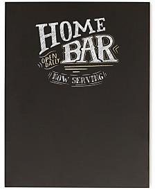 Cathy's Concepts Bar Menu Chalkboard