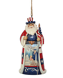 Jim Shore USA Santa Ornament