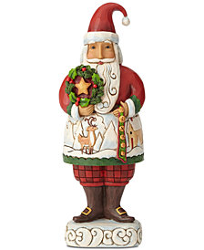 Jim Shore Santa Wreath Figurine