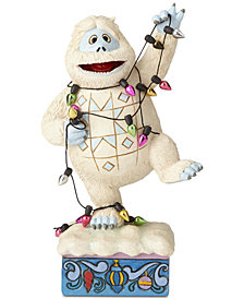 Jim Shore Bumble Wrapped in Lights Figurine