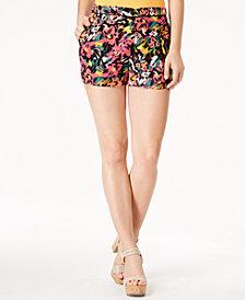 GUESS Margarita Floral-Print Shorts