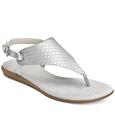 Aerosoles Conchlusion T-Strap Slingback Thong Sandals