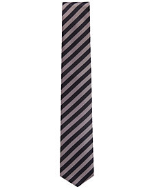 BOSS Men's Striped Silk Tie