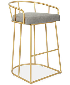 Vahan 30'' Bar Stool, Quick Ship