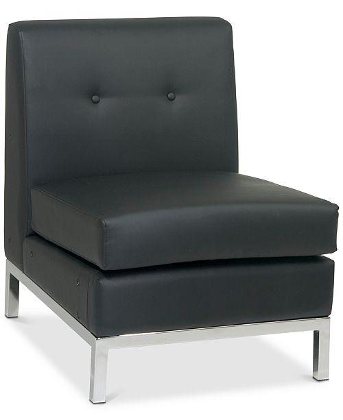 Office Star Rayda Armless Chair