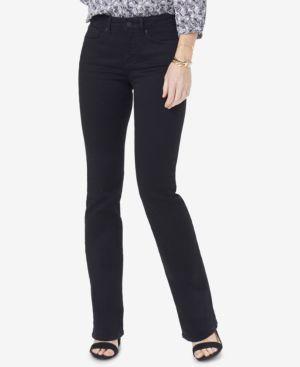 NYDJ Barbara Tummy-Control Bootcut Jeans, In Regular & Petite Sizes in Black