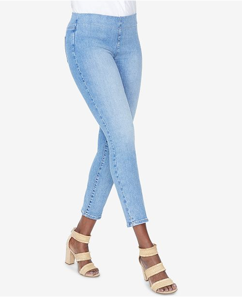 NYDJ Alina Turmmy Control Pull-On Ankle Skinny Jeans