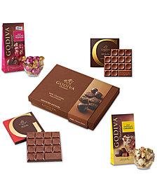 Godiva Chocolatier Milk Chocolate Variety Gift
