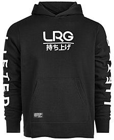 LRG Men's Logo Kanji Graphic Hoodie