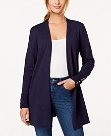 Open-Front Cardigan, In Regular and Petite, Created for Macy's