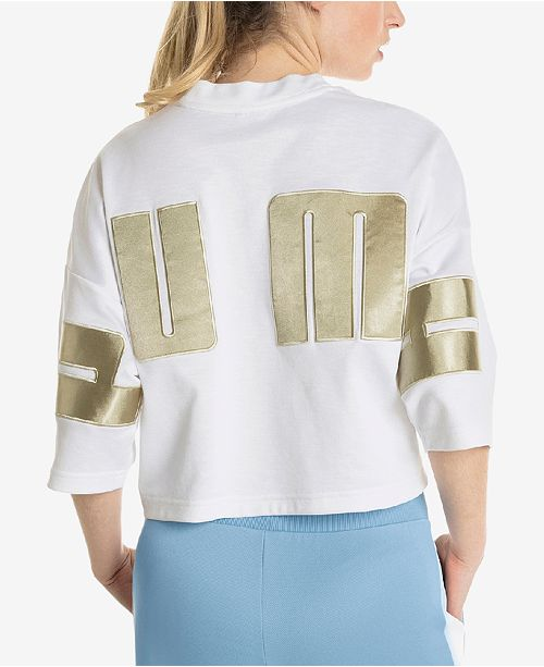 Satin Relaxed Cropped Top
