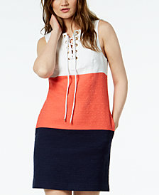 Trina Turk Miss Brady Colorblocked Dress