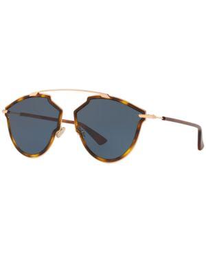 So Real Pop Tortoiseshell Sunglasses in Brown