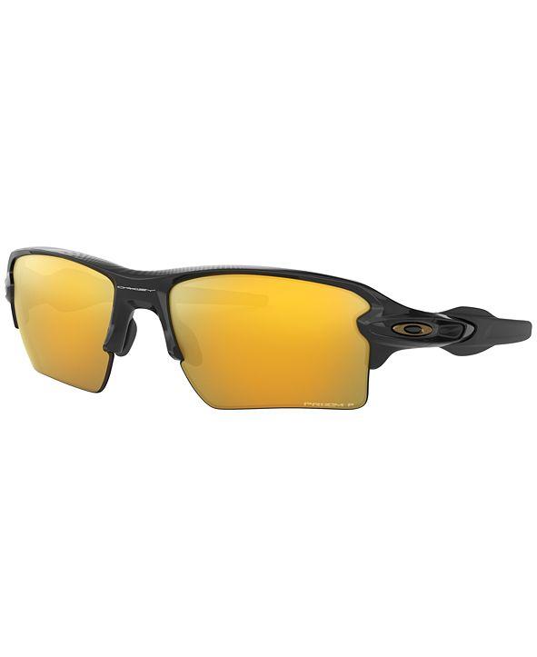 Oakley Polarized Sunglasses, OO9188 59 FLAK 2.0 XL