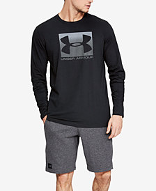 Under Armour Men's Charged Cotton® Long-Sleeve Logo T-Shirt
