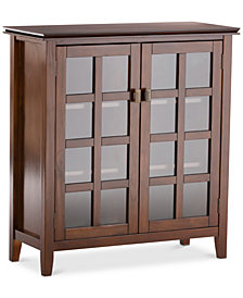 Bellevue Medium Storage Cabinet, Quick Ship
