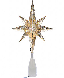 Kurt Adler Gold Bethlehem Star Tree Topper