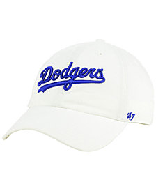 '47 Brand Los Angeles Dodgers Core CLEAN UP Strapback Cap