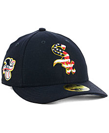 New Era Chicago White Sox Stars and Stripes Low Profile 59FIFTY Fitted Cap 2018