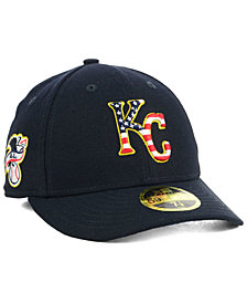 New Era Kansas City Royals Stars and Stripes Low Profile 59FIFTY Fitted Cap 2018