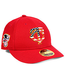 New Era Minnesota Twins Stars and Stripes Low Profile 59FIFTY Fitted Cap 2018