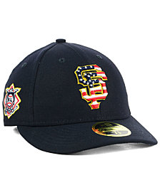 New Era San Francisco Giants Stars and Stripes Low Profile 59FIFTY Fitted Cap 2018