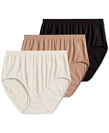 Jockey Comfies Micro Brief Underwear 3 Pack 3328