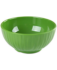 """Gibson Green Figural 6"""" Bowl, Created for Macy's"""